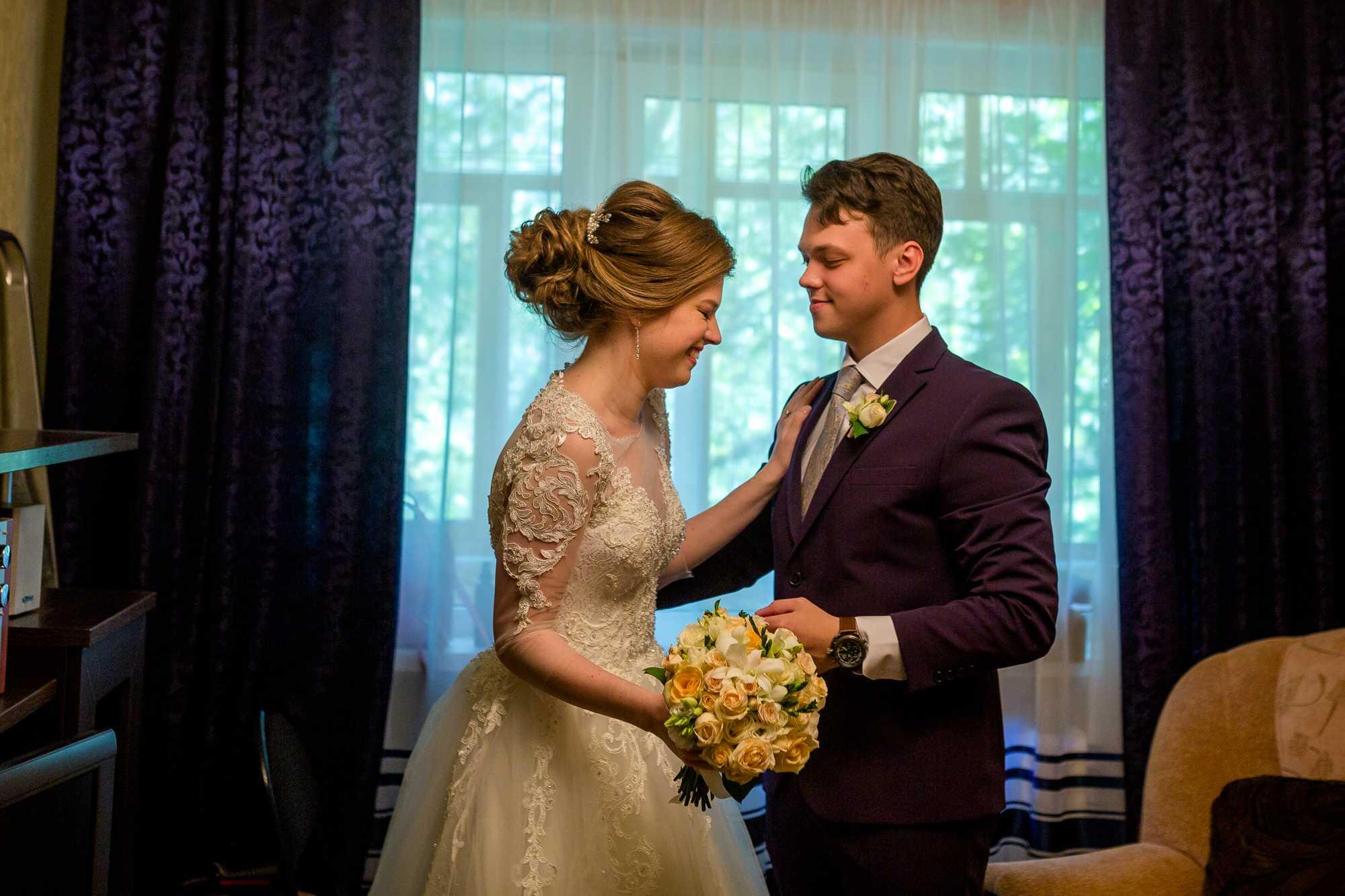 Красивая свадебная фотосессия5
