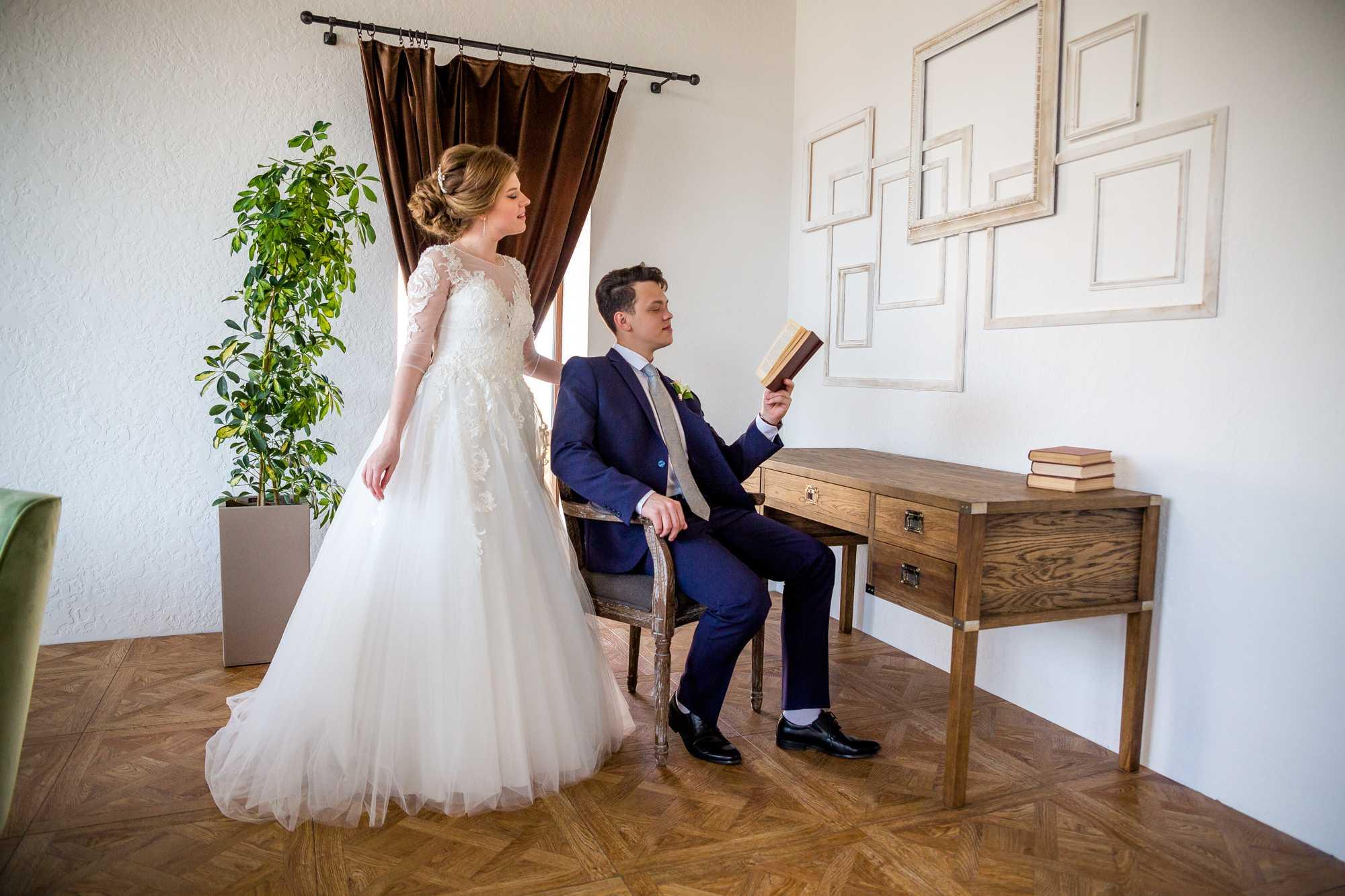 Красивая свадебная фотосессия10
