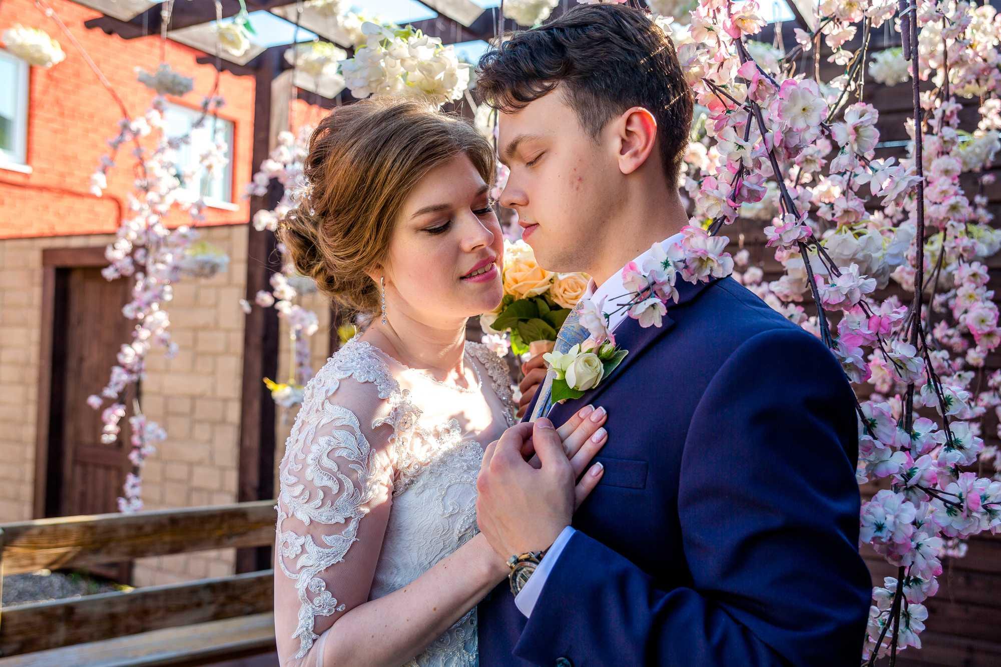 Красивая свадебная фотосессия11