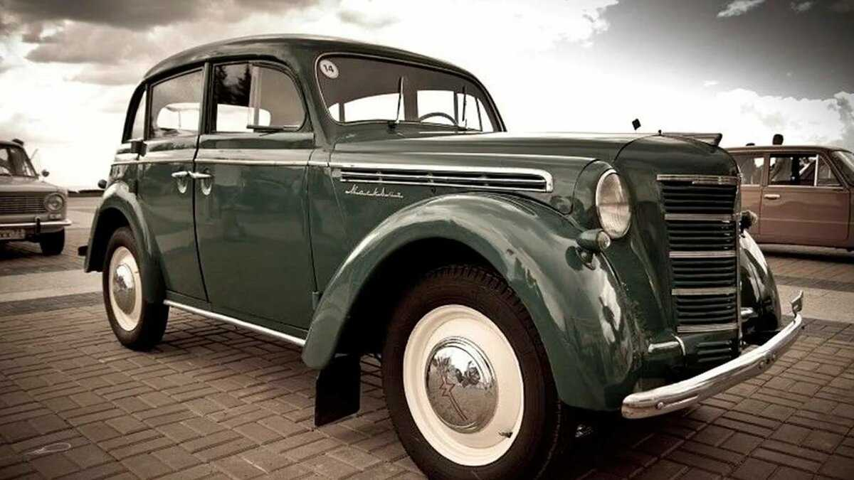 Старинные автомобили фото8