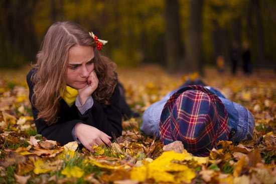 Как красиво сфотографироваться осенью1