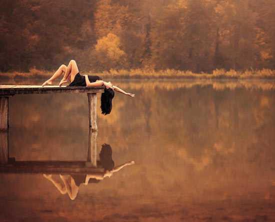 Как красиво сфотографироваться осенью3