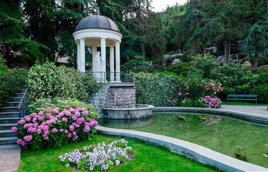 самый красивый парк в москве
