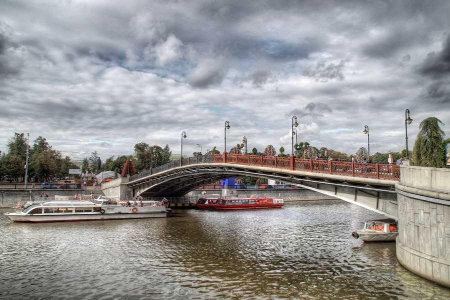 Москва сегодня фото Мост любви