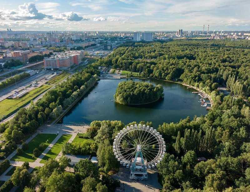 Москва Измайловский парк