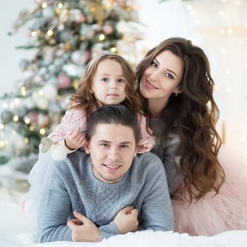 Позы для семейной фотосессии
