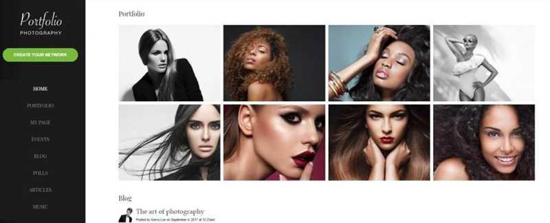 Сайт для фотографа6