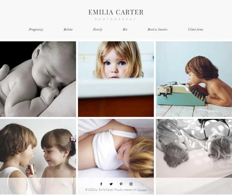 Сайт для фотографа5