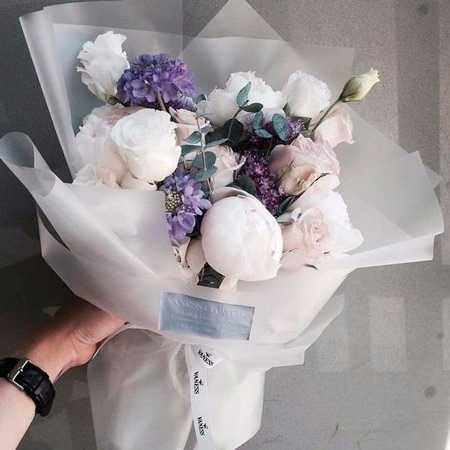 Самые красивые букеты из живых цветов фото14