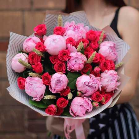 Самые красивые букеты из живых цветов фото2