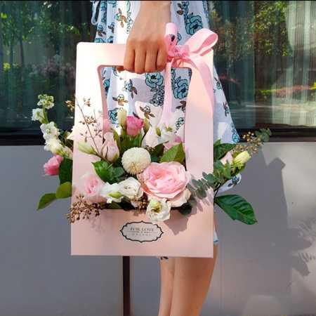 Самые красивые букеты из живых цветов фото20