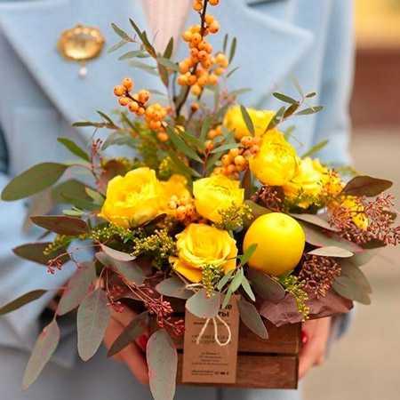 Самые красивые букеты из живых цветов фото26
