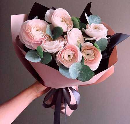 Самые красивые букеты из живых цветов фото27