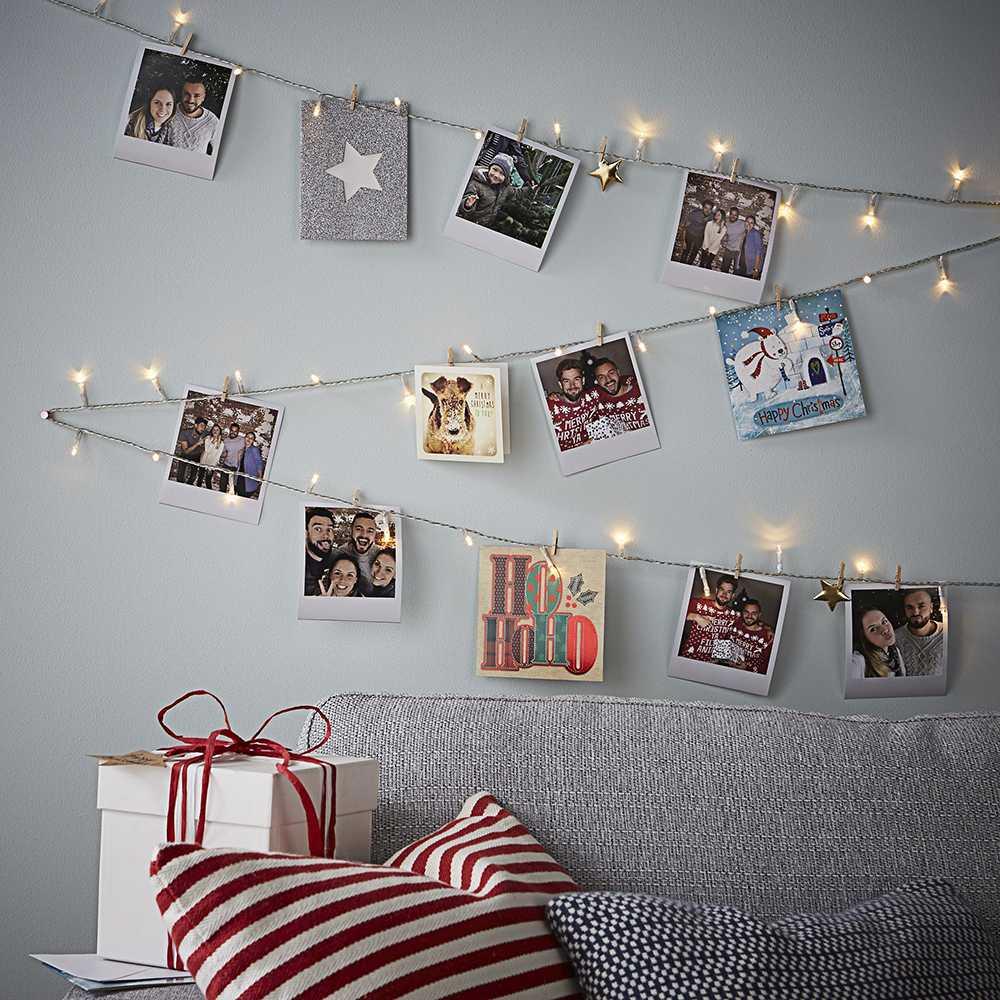 Как повесить фотографии на стену красиво2