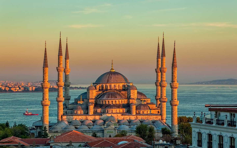 Красивые места Стамбула фото1