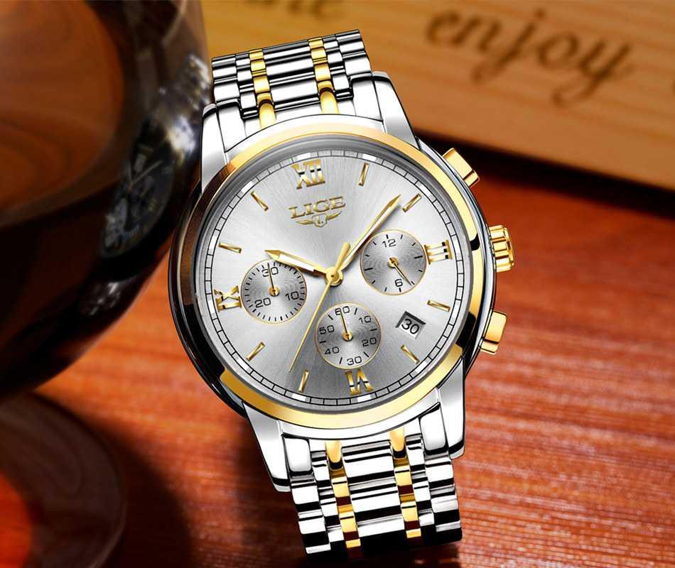 Модные наручные часы мужские6