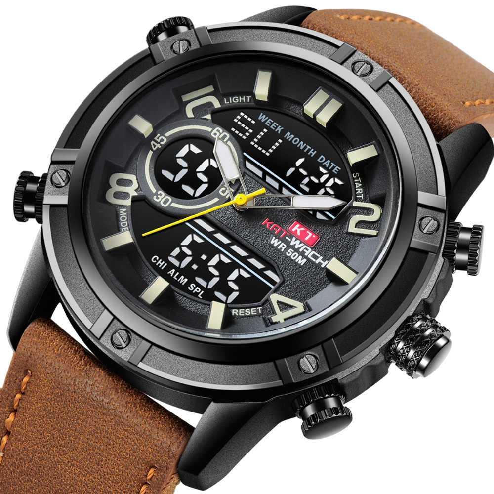 Модные наручные часы мужские4