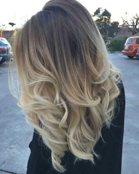 Модные покраски волос11
