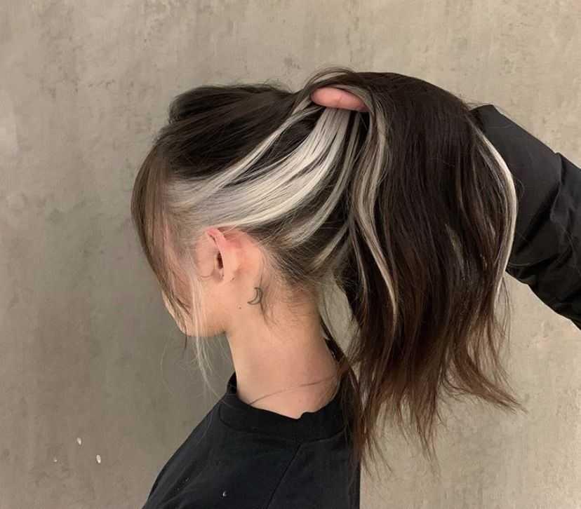 Модные покраски волос12