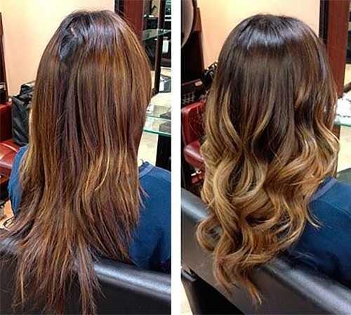 Модные покраски волос14