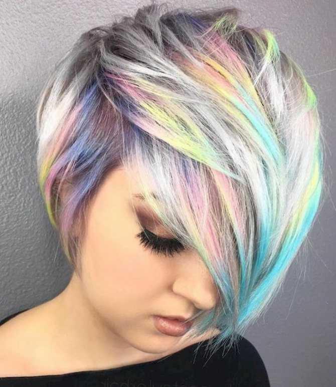 Модные покраски волос2