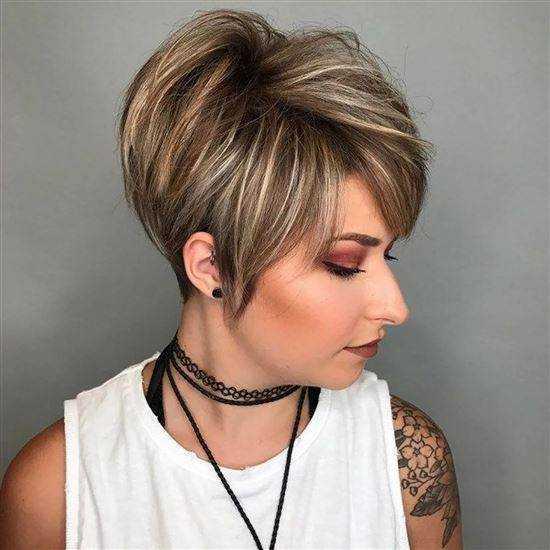 Модные покраски волос6