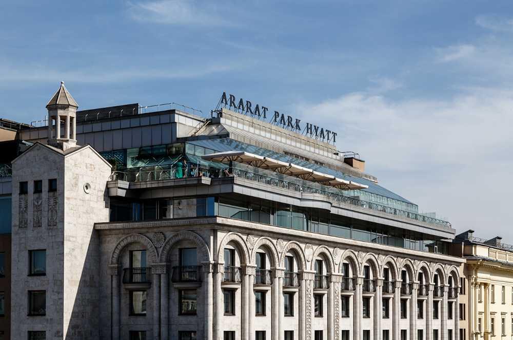 Самые дорогие отели Москвы17