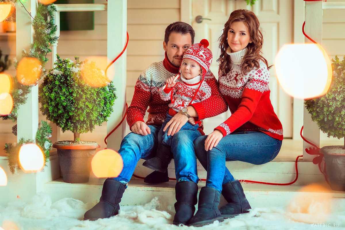 Семейные фотосессии в студии фото идеи21