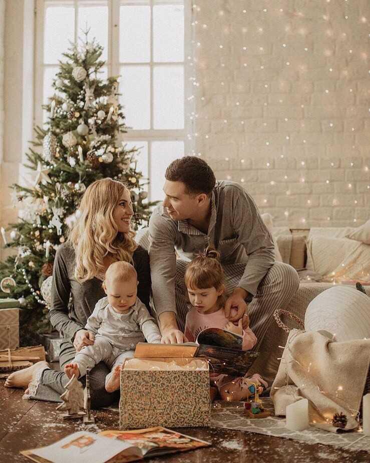 Семейные фотосессии в студии фото идеи24