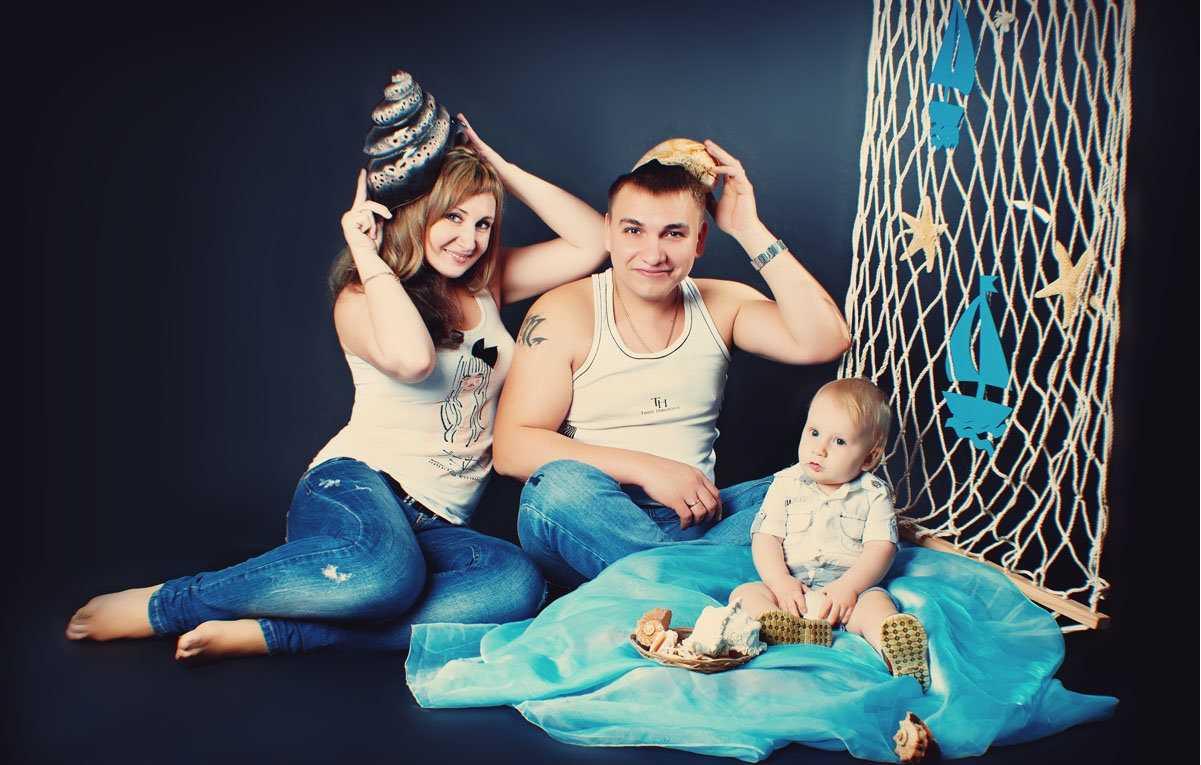 Семейные фотосессии в студии фото идеи11