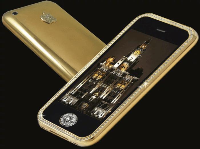 Какой самый дорогой телефон в мире5