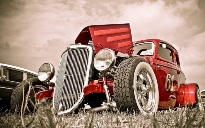 Старинные автомобили фото1