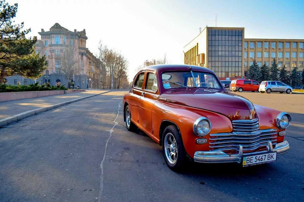 Старинные автомобили фото9