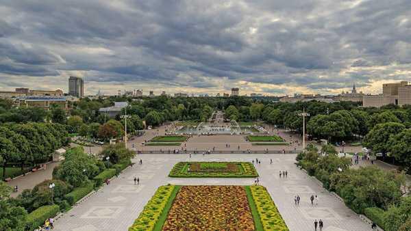 Самый красивый парк в москве2