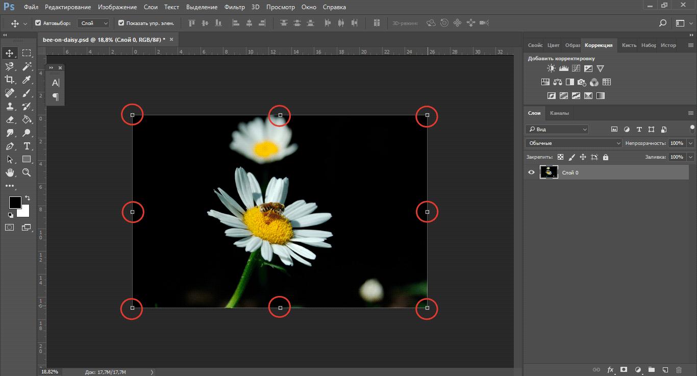 Как фотошопе поменять формат6