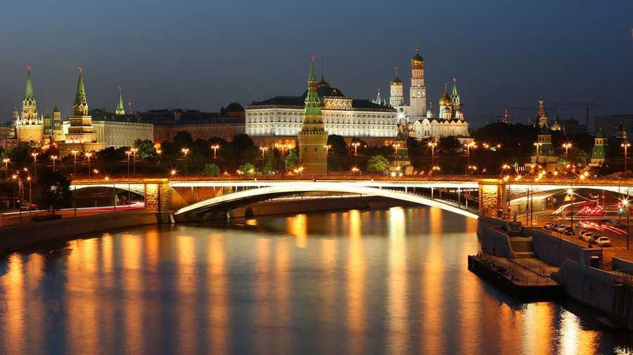 Москва Большой каменный мост10