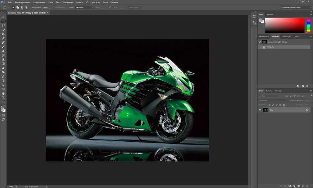 Как уменьшить изображение в фотошопе без потери качества1