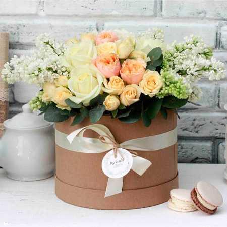 Самые красивые букеты из живых цветов фото11