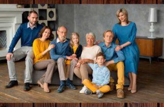 семейные фотосессии в студии фото идеи
