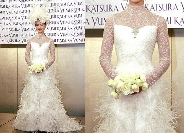 Свадебное платье самое дорогое12