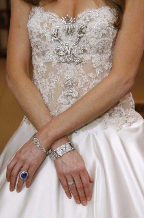 Свадебное платье самое дорогое13