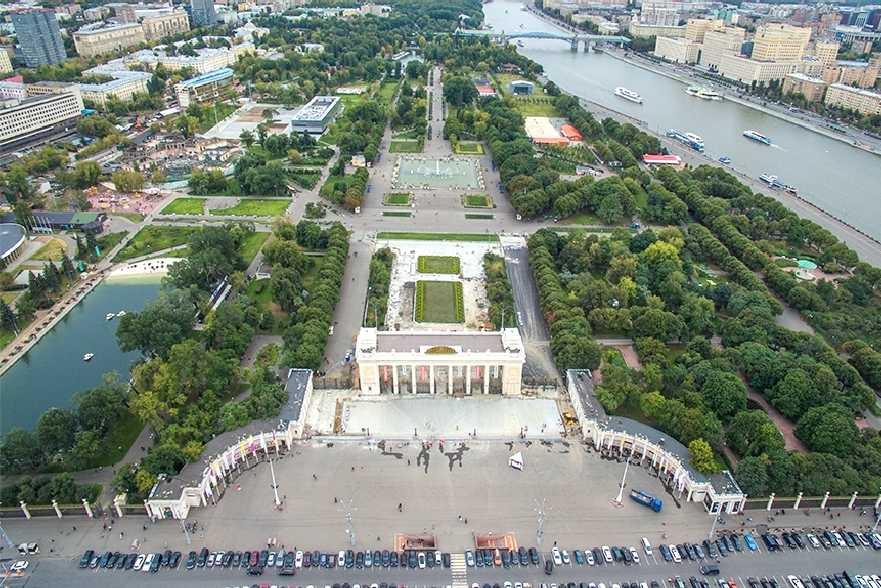 Места в Москве для прогулок1