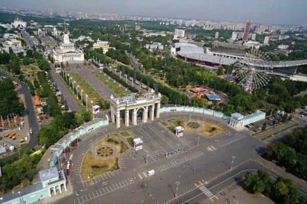 Места в Москве для прогулок14