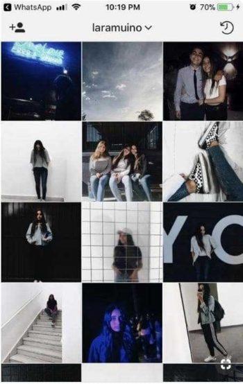 Обработка фото в инстаграм в одном стиле10