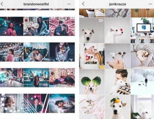 Обработка фото в инстаграм в одном стиле7
