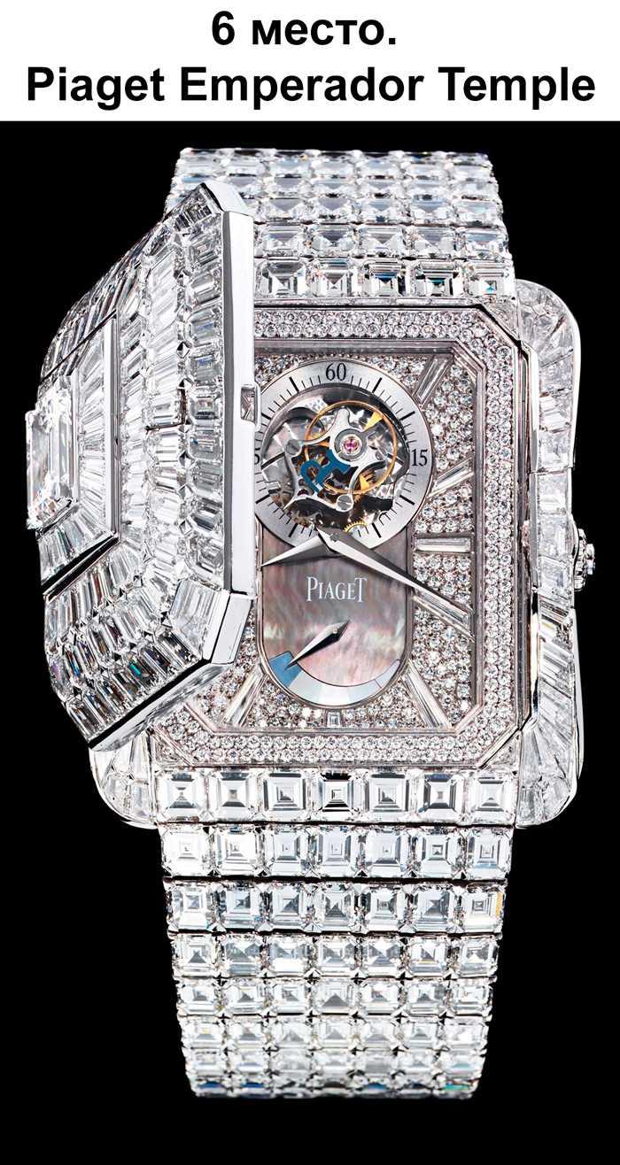 Самые дорогие часы наручные