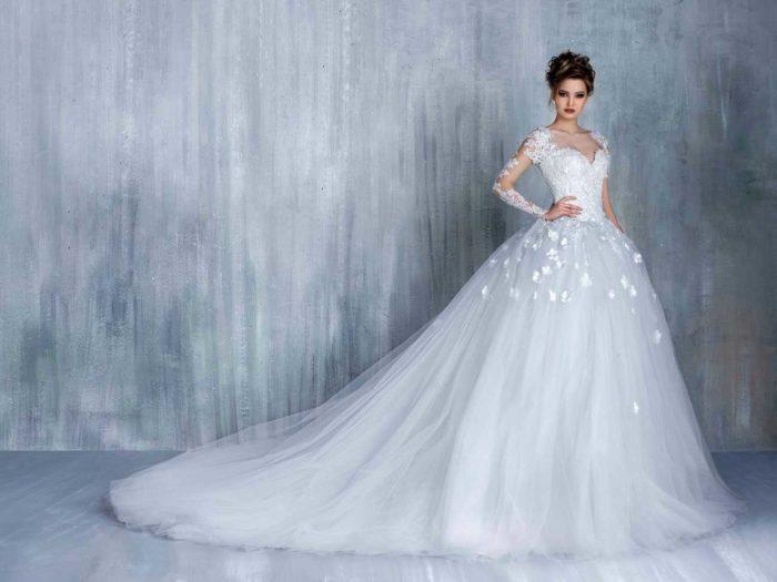 Самые красивые свадебные платья фото13