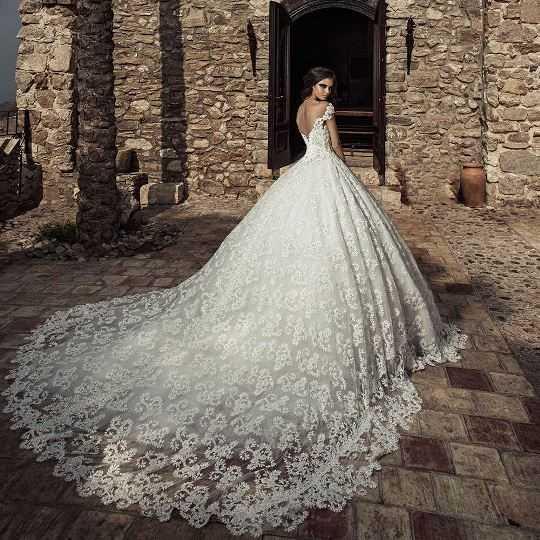 Самые красивые свадебные платья фото14
