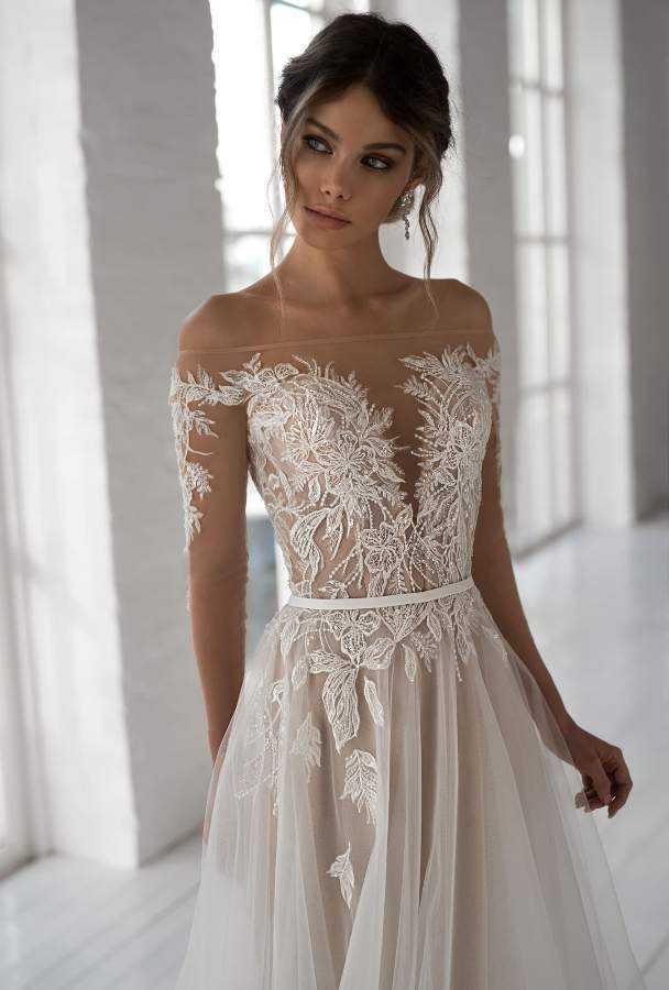 Самые красивые свадебные платья фото16