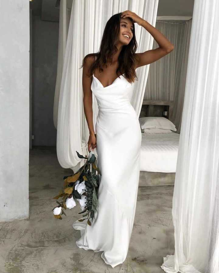 Самые красивые свадебные платья фото17